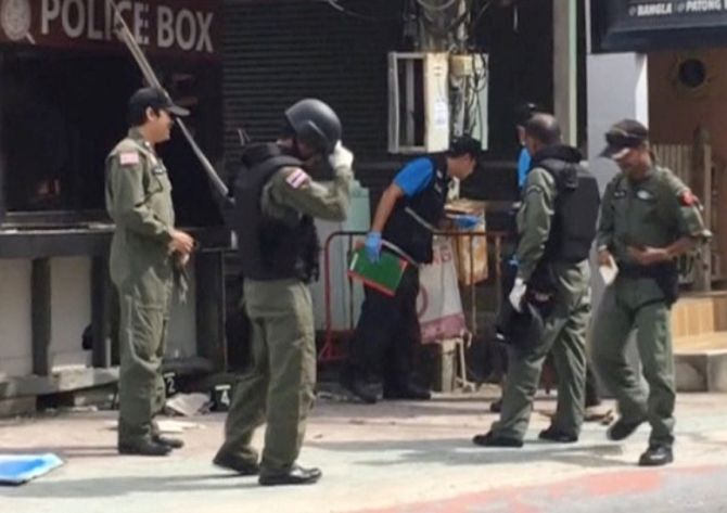 4 killed as series of blasts rock Thailand